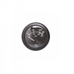 Engine oil pressure clock